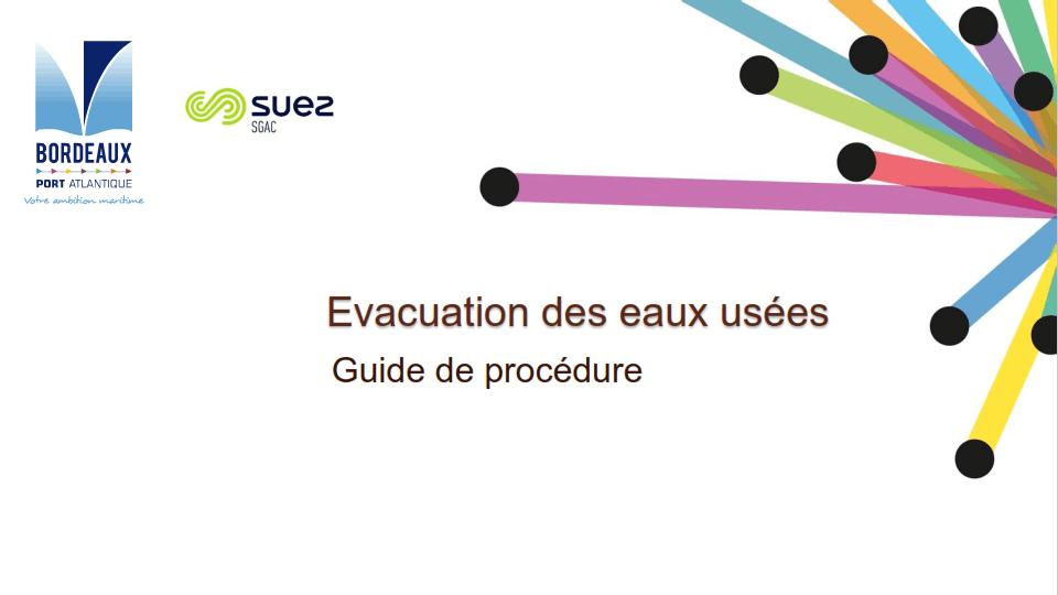 Couverture Sewage Evacuation