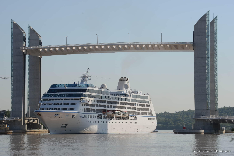 Un meilleur accès à Bordeaux pour les navires de croisière